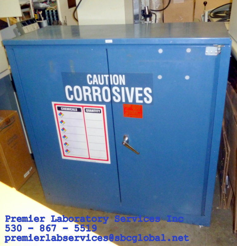 SOLD ****** Cabinet ACID / CORROSIVE 30 Gallon ******SOLD ****