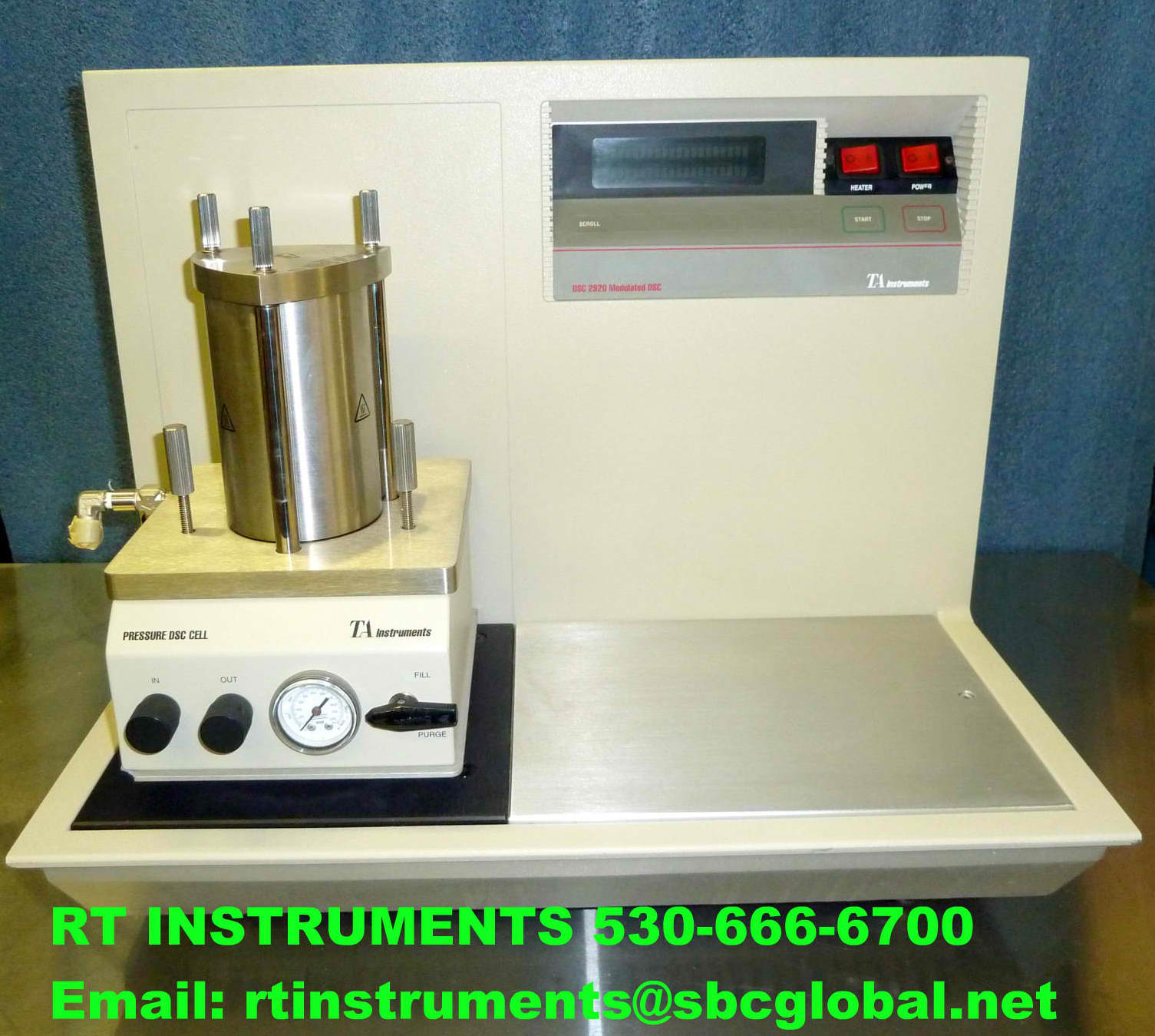 TA INSTRUMENTS 2920 Pressure Differential Scanning Calorimeter