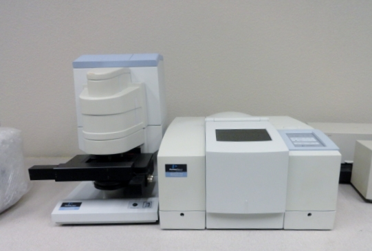 FTIR PERKIN ELMER SPECTRUM ONE with AUTO IMAGE MICROSCOPE